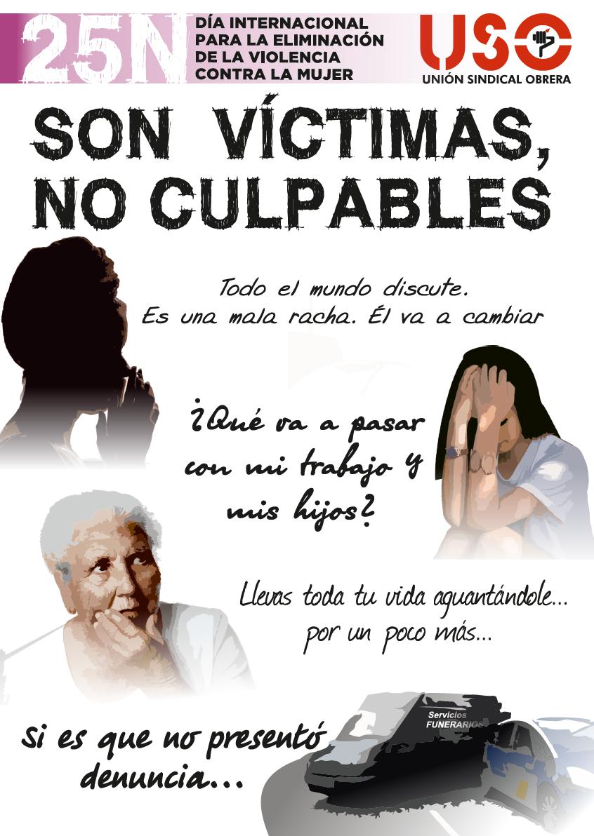 25N SON VÍCTIMAS, NO CULPABLES