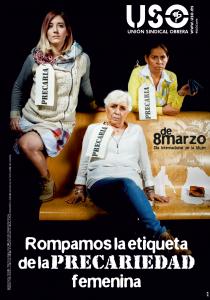 ROMPAMOS LA ETIQUETA DE LA PRECARIEDAD FEMENINA