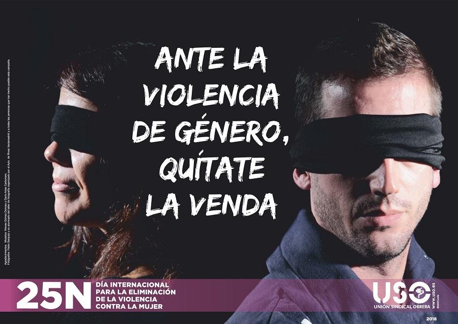 ANTE LA VIOLENCIA DE GÉNERO, QUÍTATE LA VENDA